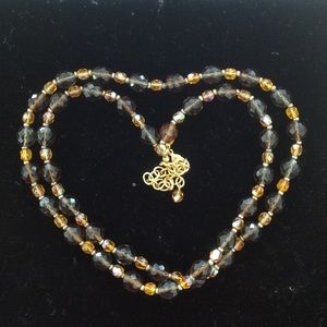 Joan Rivers Beaded Necklace 16""